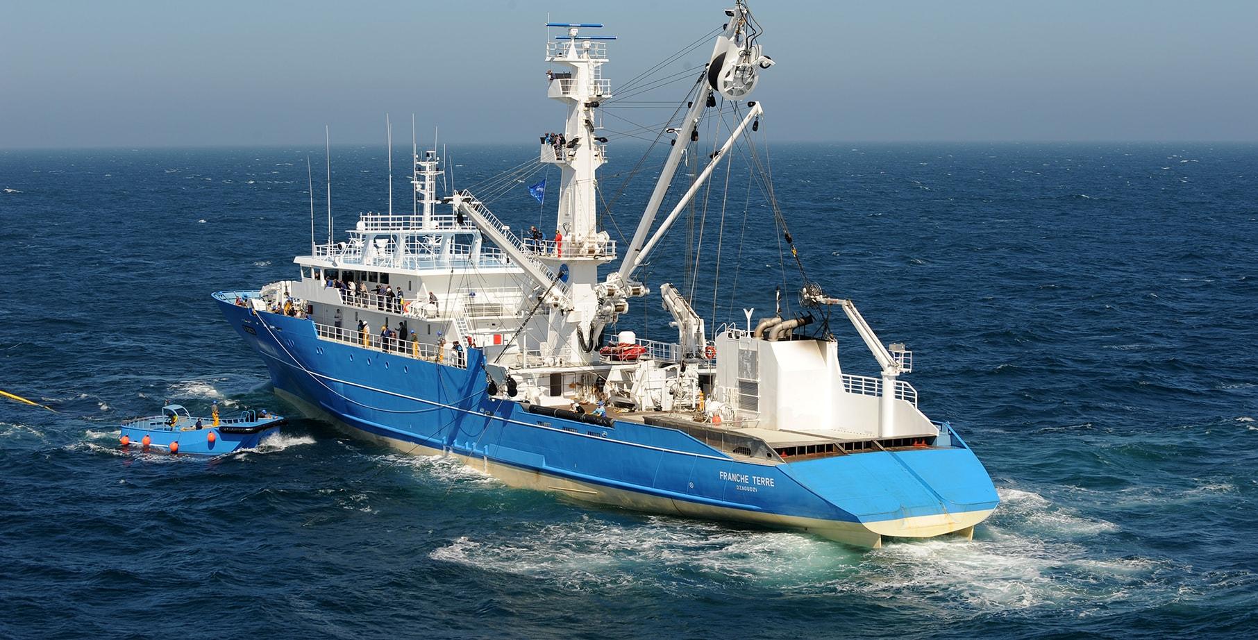 Sapmer Franche Terre fishing vessel - welcome on board