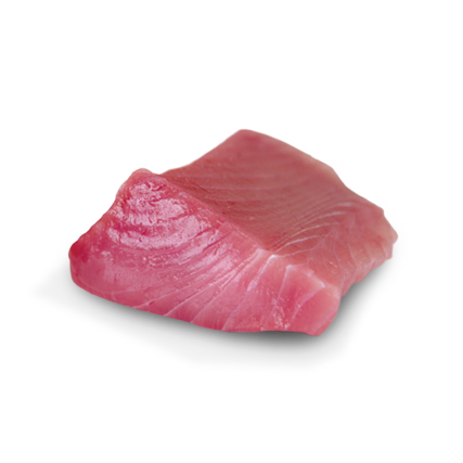 Raw Ahi tuna fillet by Sapmer