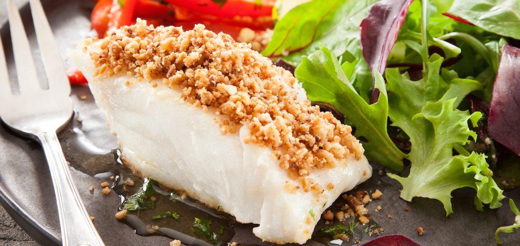 Chilean Seabass crumble recipe by sapmer