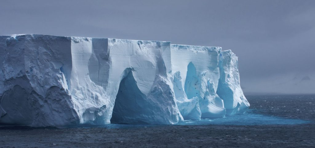 Iceberg SAPMER Antarctic fisheries
