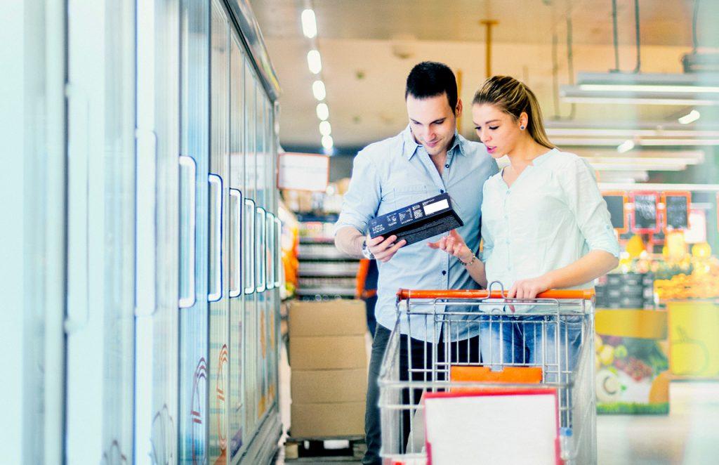 SAPMER in supermarket - Retail range
