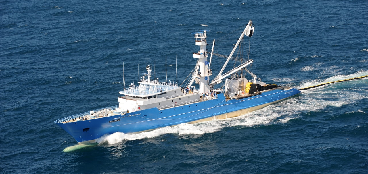 Sapmer Fishing vessel Franche terre