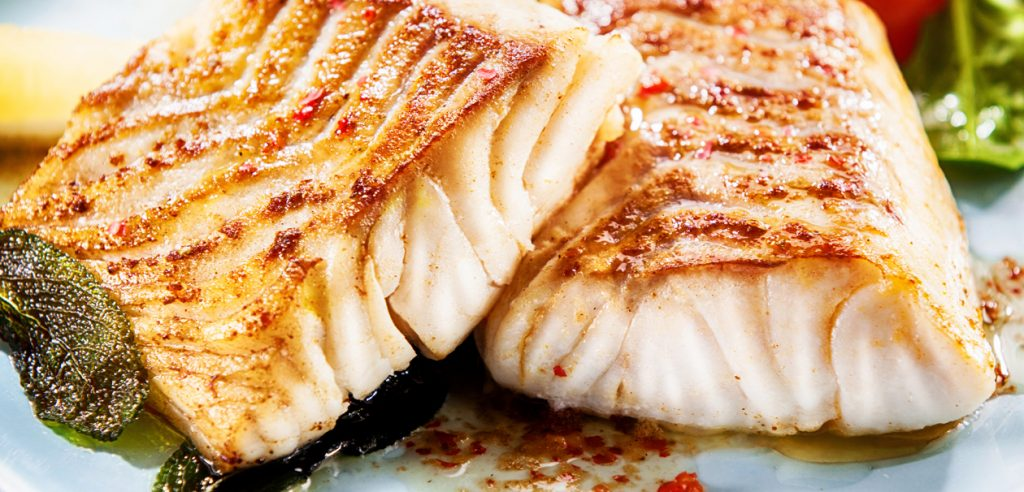 Pan roasted Chilean Seabass recipe by Sapmer
