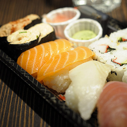 Fresh and safe sushis - Fresher than fresh SAPMER priority