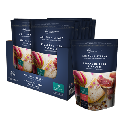 6 Ahi tuna steaks pack - SAPMER