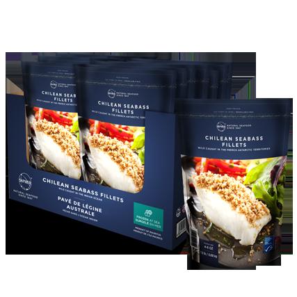 Chilean Seabass fillets pack - SAPMER