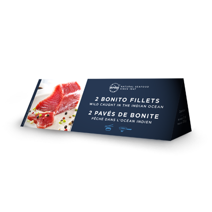 SAPMER 2 Skipjack fillets package