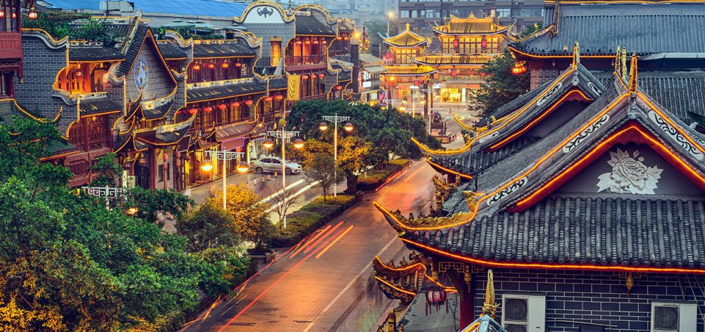 China city view - Sapmer in China