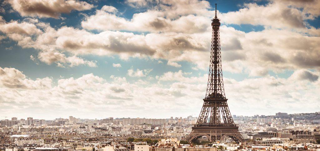 Paris city view - Sapmer in Europe