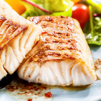 Grilled Chilean Seabass recipe by Sapmer