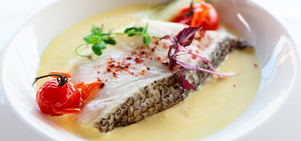 Cooked Chilean Seabass fillet by Sapmer