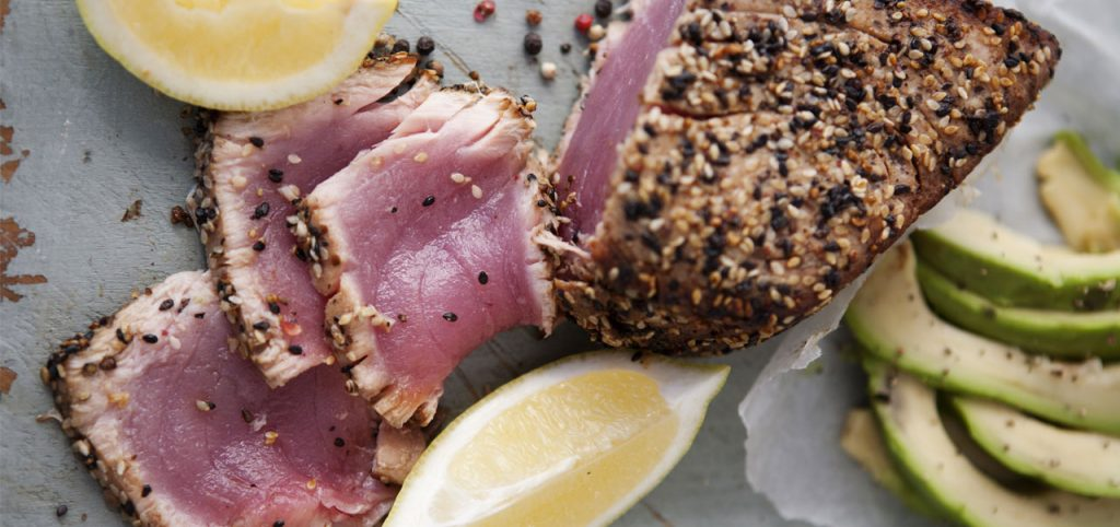 Ahi tuna tataki recipe by Sapmer