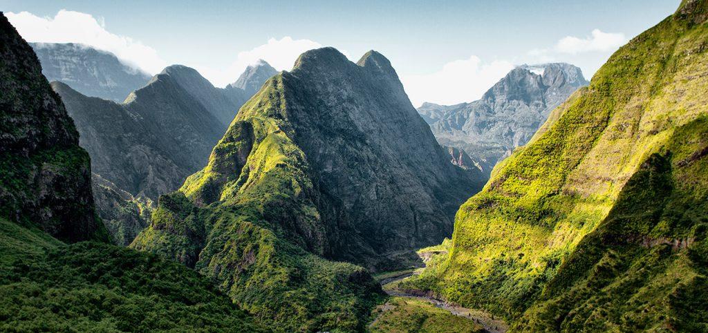 Reunion island mountains - Sapmer in Reunion